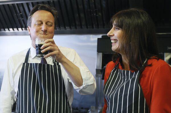 Premier Wielkij Brytanii David Cameron - Sputnik Polska