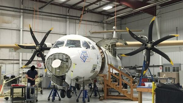 Amerykański samolot wywiadowczy ATR 42-500 - Sputnik Polska