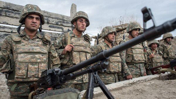 Konflikt w Górskim Karabachu - Sputnik Polska