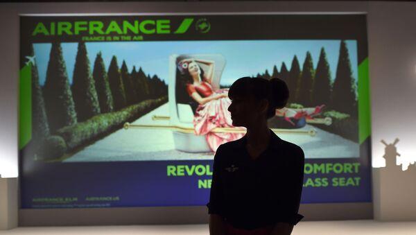 Stewardesa Air France na wystawie w Nowym Jorku - Sputnik Polska