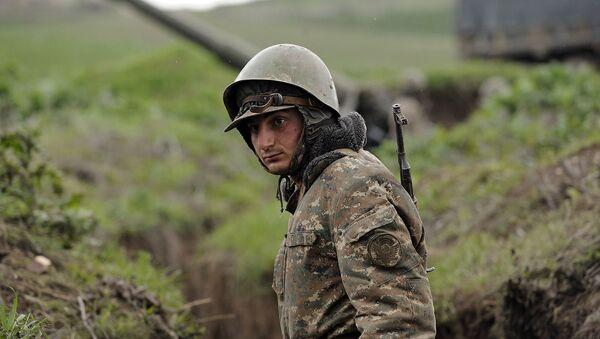 Sytuacja w Górskim Karabachu - Sputnik Polska