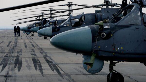 Śmigłowce Ka-52 Alligator - Sputnik Polska