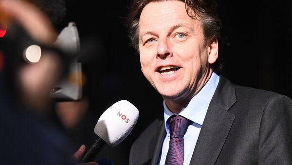 Minister spraw zagranicznych Holandii Bert Koenders - Sputnik Polska