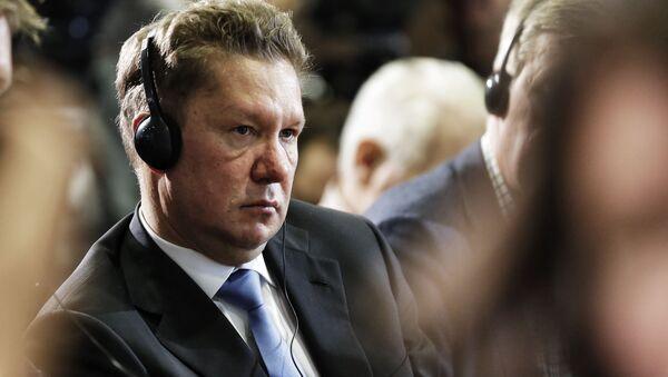 Przewodniczący zarządu spółki Gazprom Aleksiej Miller - Sputnik Polska