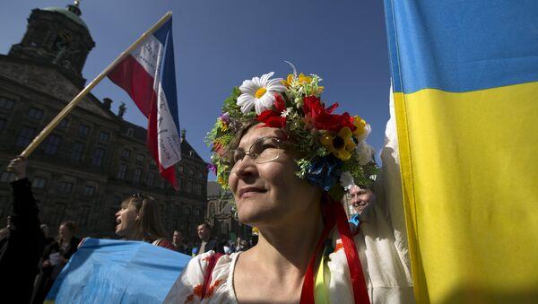 Referendum w Holandii - Sputnik Polska