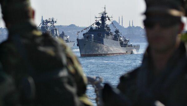 Statek Marynarki Wojennej Turcji TCG Salihreis - Sputnik Polska