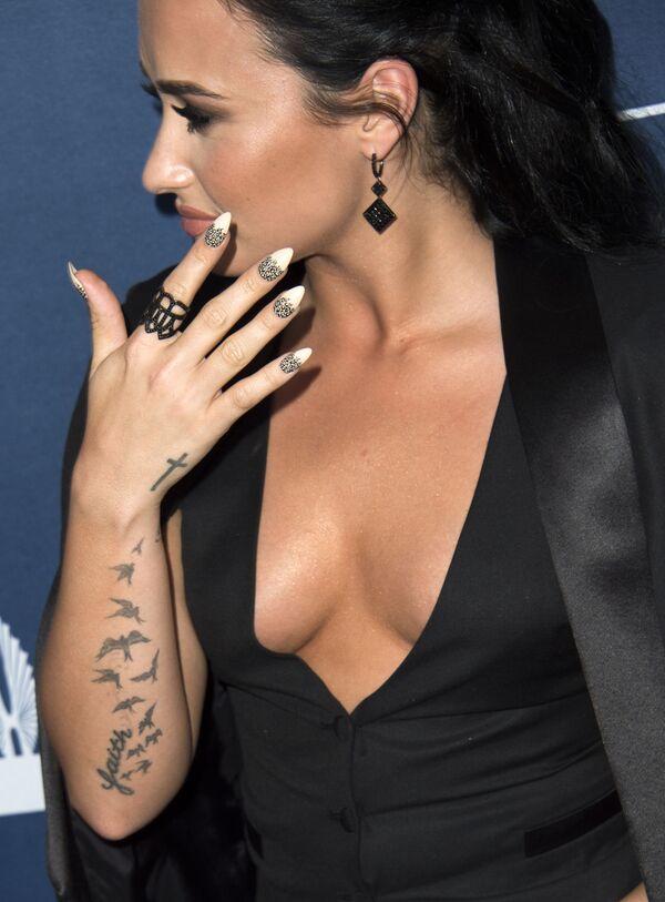 Amerykańska aktorka Demi Lovato - Sputnik Polska