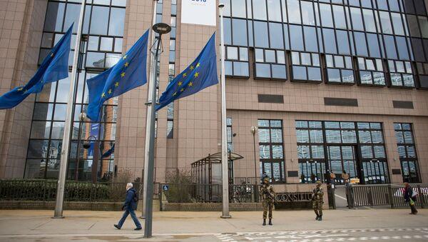 Gmach Parlamentu Europejskiego w Brukseli - Sputnik Polska