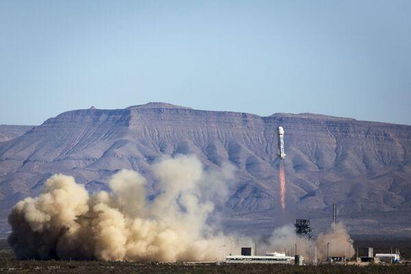Lądowanie rakiety New Shepard - Sputnik Polska