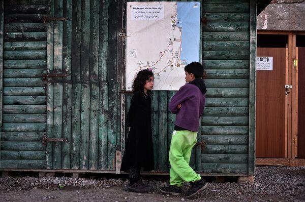 Uchodźcy w Grecji - Sputnik Polska