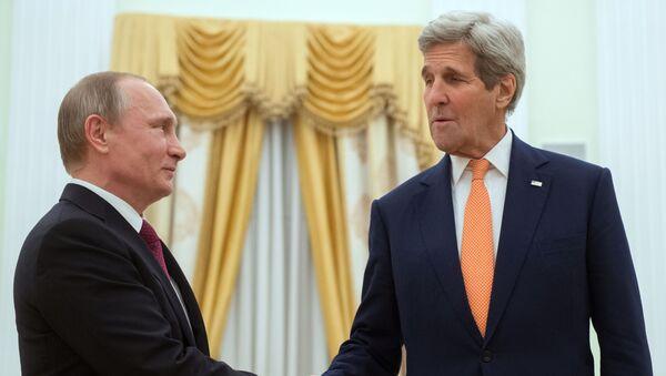 Wizyta sekretarza stanu USA Johna Kerryego w Moskwie - Sputnik Polska