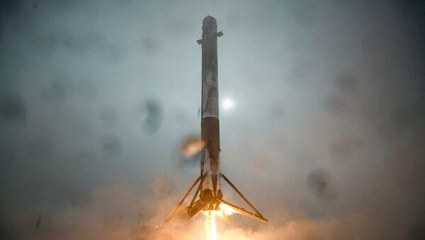 Rakieta nośna Falcon 9 - Sputnik Polska