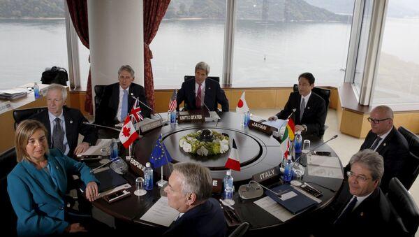 Spotkanie ministrów spraw zagranicznych państw G7 w Hiroszimie - Sputnik Polska