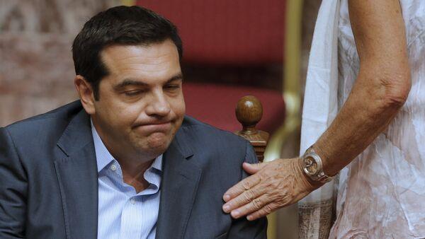 Premier Grecji Aleksis Tsipras - Sputnik Polska