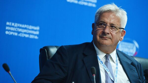 prezes Amerykańskiej Izby Handlowej w Rosji (AmCham) Alexis Rodzianko - Sputnik Polska