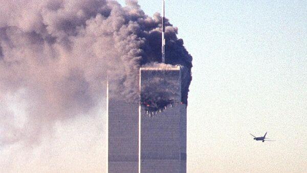 Atak terrorystyczny na bliźniacze wieże w Nowym Jorku - Sputnik Polska