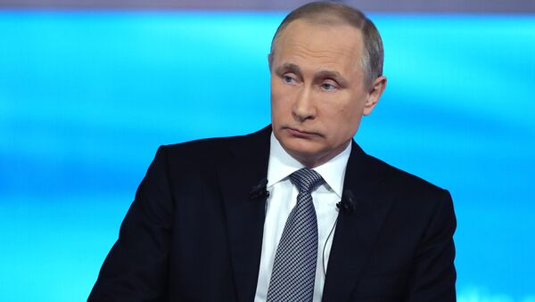 """""""Gorąca linia z prezydentem Rosji Władimirem Putinem - Sputnik Polska"""