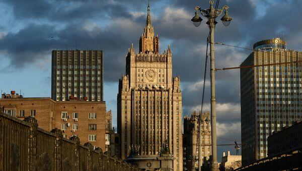 Budynek rosyjskeigo MSZ - Sputnik Polska