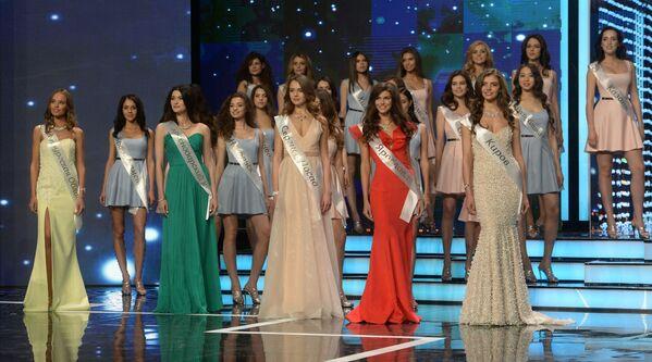 Uczestniczki konkursu Miss Rosji 2016 - Sputnik Polska