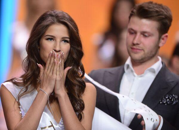 Miss Rosji 2016 Jana Dobrowolskaja - Sputnik Polska