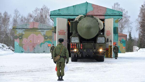 Rosyjski pocisk balistyczny dalekiego zasięgu RS-24 Jars - Sputnik Polska
