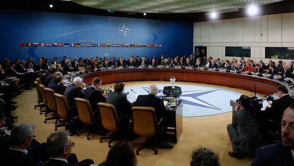 Posiedzenie ministrów spraw zagranicznych NATO w siedzibie NATO w Brukseli - Sputnik Polska
