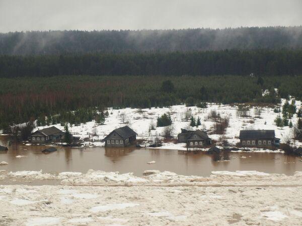 Powódź w Wołogdzie - Sputnik Polska