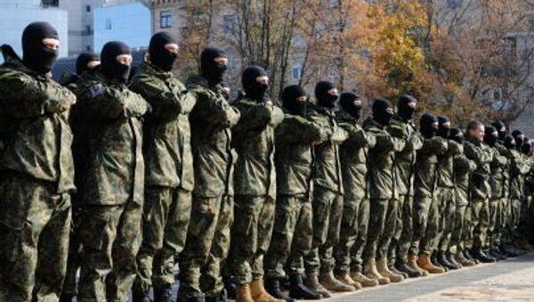 Nacjonalistyczny ochotniczy batalion Azow - Sputnik Polska