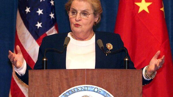 Madeleine Albright - Sputnik Polska