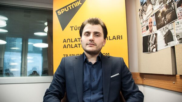 Redaktor naczelny  Sputnik TurcjaTural Kerimow - Sputnik Polska