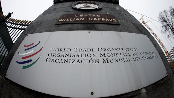 Siedziba WTO w Genewie - Sputnik Polska