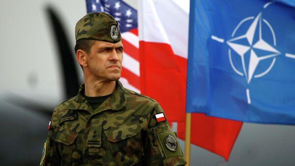 Ćwiczenia NATO. Polska. Kwiecień 2014 r. - Sputnik Polska