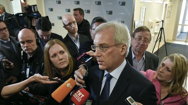 Stały przedstawiciel Rosji przy NATO Aleksander Gruszko - Sputnik Polska