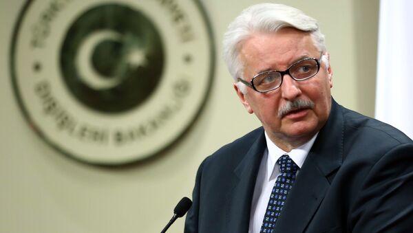 Minister spraw zagranicznych RP Witold Waszczykowski - Sputnik Polska