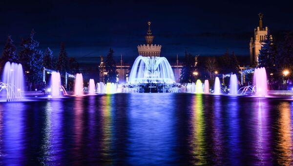Sezon fontann w Moskwie - Sputnik Polska