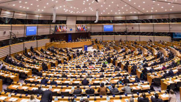 Posiedzenie Parlamentu Europejskiego w Brukseli - Sputnik Polska