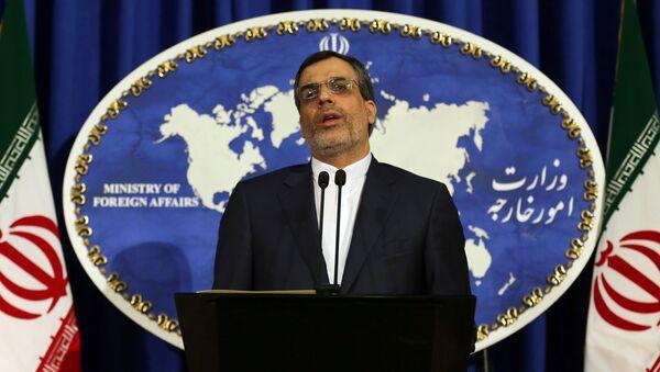 Rzecznik irańskiego MSZ Hossein Jaberi Ansari - Sputnik Polska