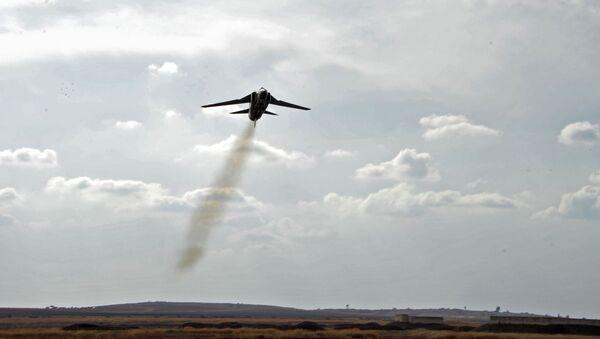 Samolot MiG-23 syryjskich sił powietrznych - Sputnik Polska