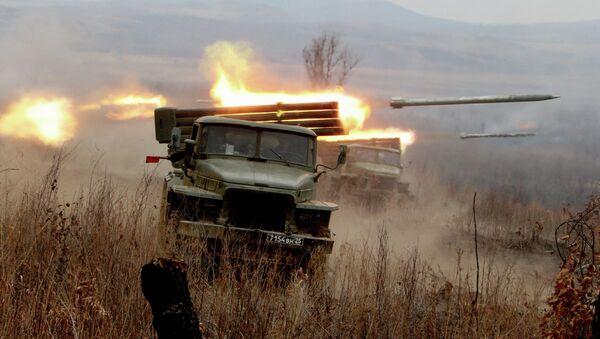 Ćwiczenia artylerii rakietowej - Sputnik Polska