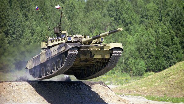 Czołg T-80 - Sputnik Polska