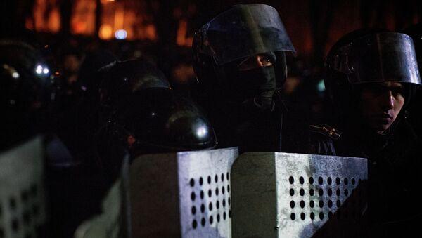 Antyrządowe protesty w Kiszyniowie - Sputnik Polska