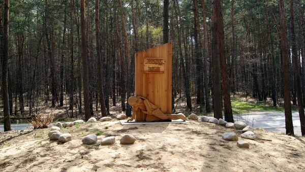 Pomnik Romskich ofiar nazizmu w Borzęcinie - Sputnik Polska