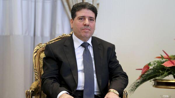 Premier Syrii Wa'il Nadir al-Halki - Sputnik Polska
