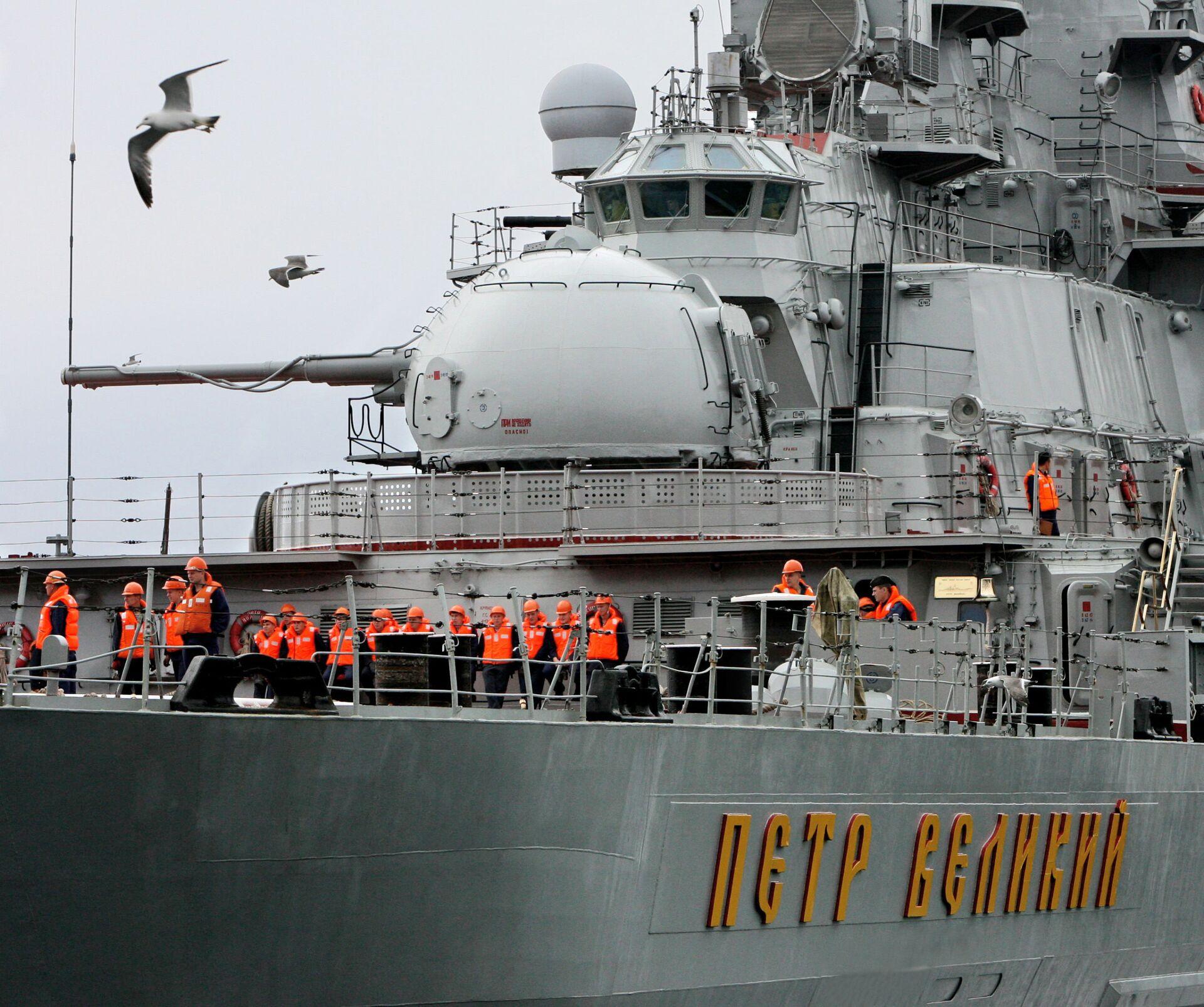 Pięć najpotężniejszych okrętów rosyjskiej marynarki wojennej - foto - Sputnik Polska, 1920, 24.03.2021