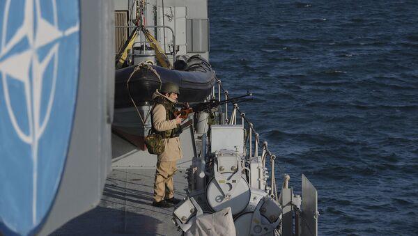 Ćwiczenia wojskowe NATO na Morzu Czarnym - Sputnik Polska