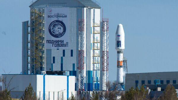 Rakieta nośna Sojuz 2.1a na kosmodromie Wostocznyj - Sputnik Polska