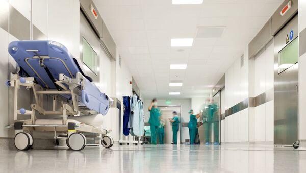 Szpitalny korytarz - Sputnik Polska