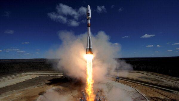Start z kosmodromu Wostocznyj rakiety nośnej Sojuz-2.1a - Sputnik Polska