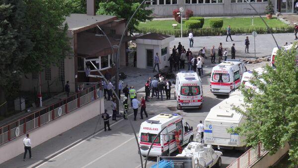 Atak terrorystyczny w Gaziantep na południowym wschodzie Turcji - Sputnik Polska