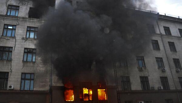 Tragedia 2 maja 2014 roku w Odessie - Sputnik Polska